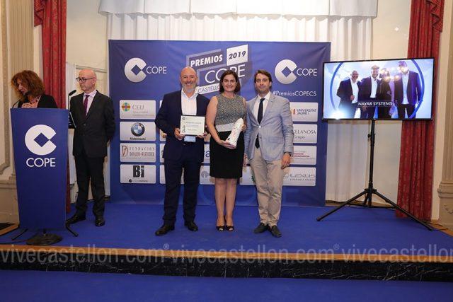 Nayar Systems recoge el Premio COPE Castellón