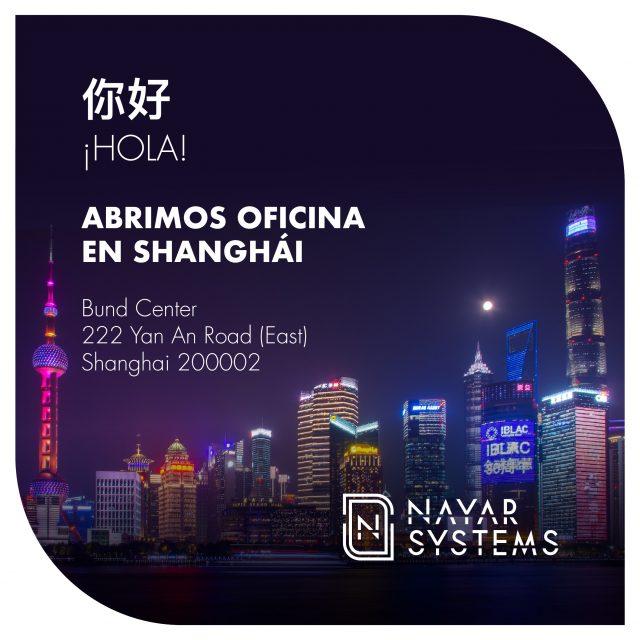 Nayar Systems abre oficina en Shanghái, China