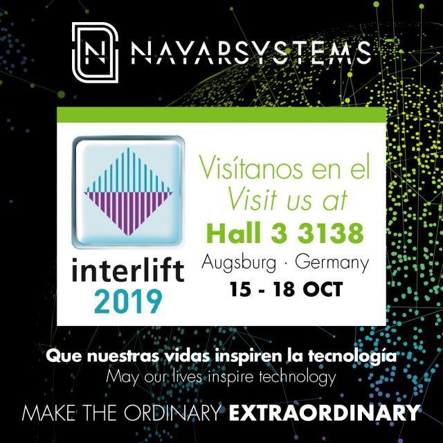 Nayar Systems presenta Nearkey en Interlift 2019: el control inteligente y seguro de los accesos en tu smartphone