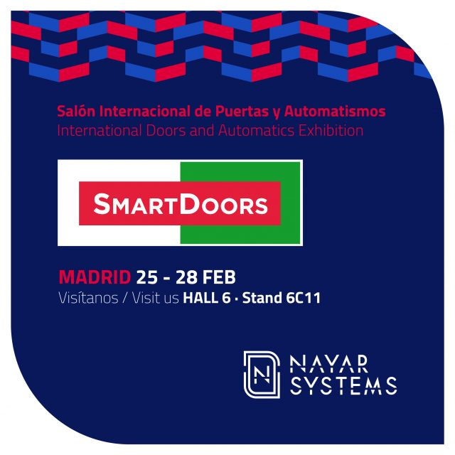 Nayar Systems estará presente en Smart Doors 2020