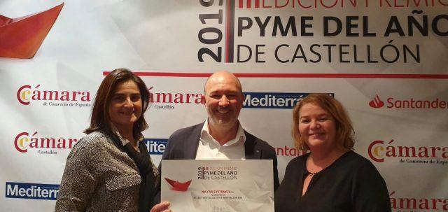 Nayar Systems galardonada en los Premios Pyme del Año 2019