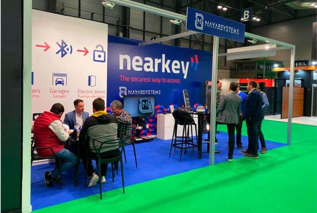 Nearkey, el sistema de control de accesos de Nayar Systems, convence a los asistentes de Smart Doors 2020