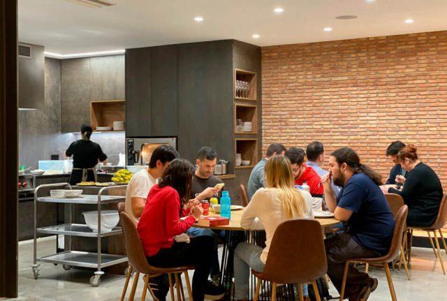 Nayar Systems apuesta por un comedor sostenible en Nayar Systems Building, de la mano de Cuinatur