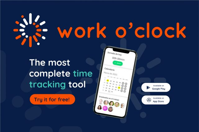 Work o'clock, the easiest and most reliable time control tool on the market