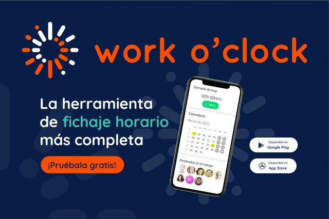 Work o'clock, la herramienta de control horario más sencilla y fiable, ya en el mercado